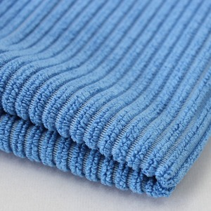 Warp knitted corduroy cloth